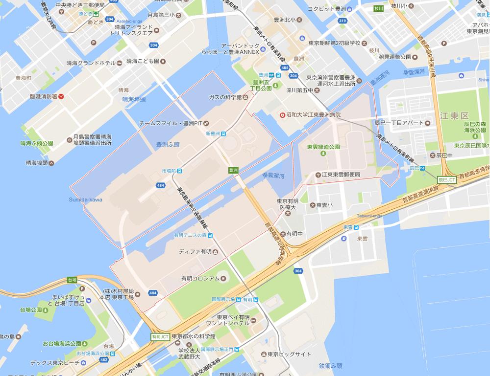 江東区で人口が増えている町