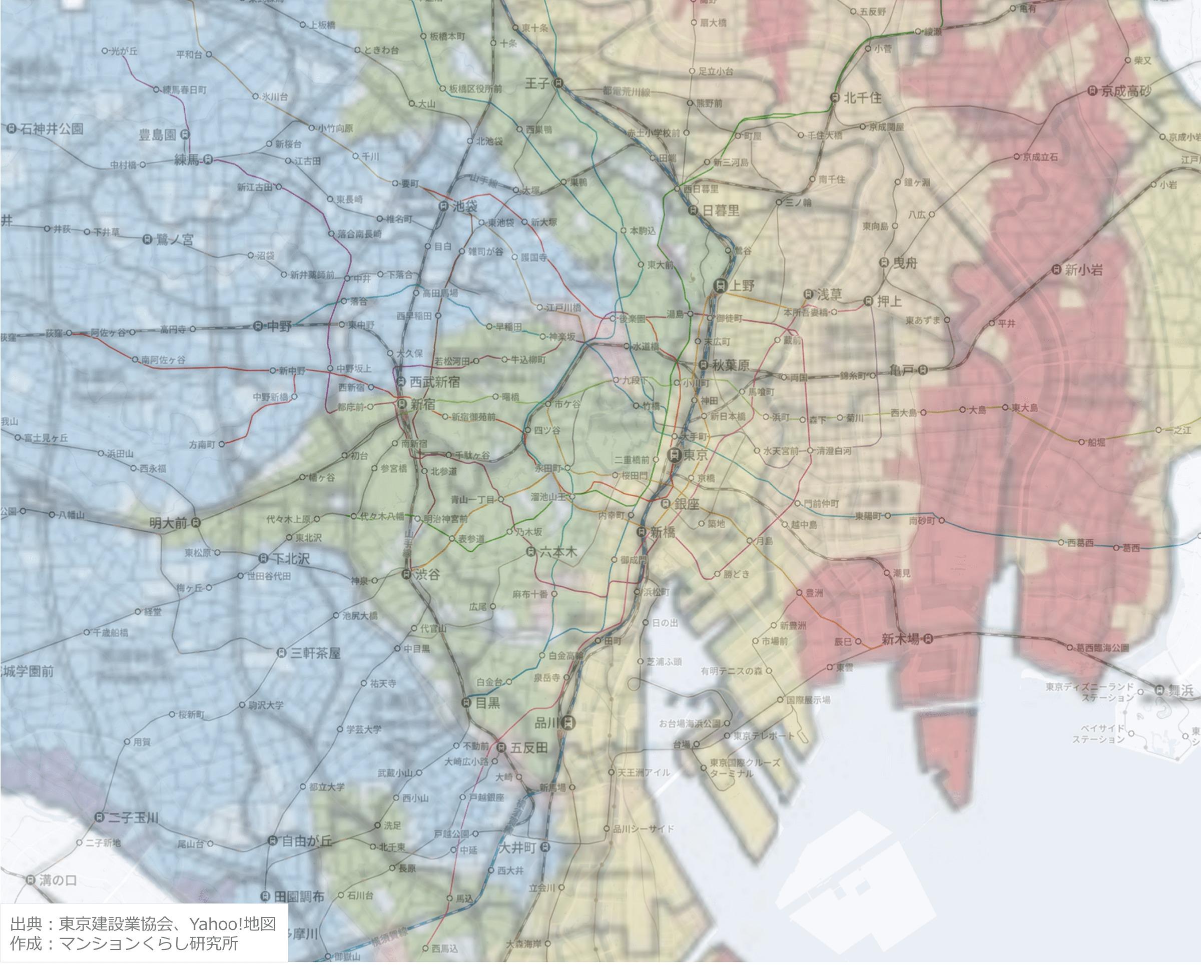 東京23区_地盤マップ